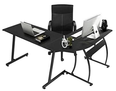 GreenForest Corner Gaming Desk