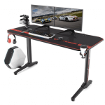 Vitesse 55 inch Gaming Desk Racing Style