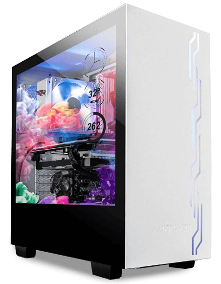 iBuyPower Snowblind Translucent Customizable Side